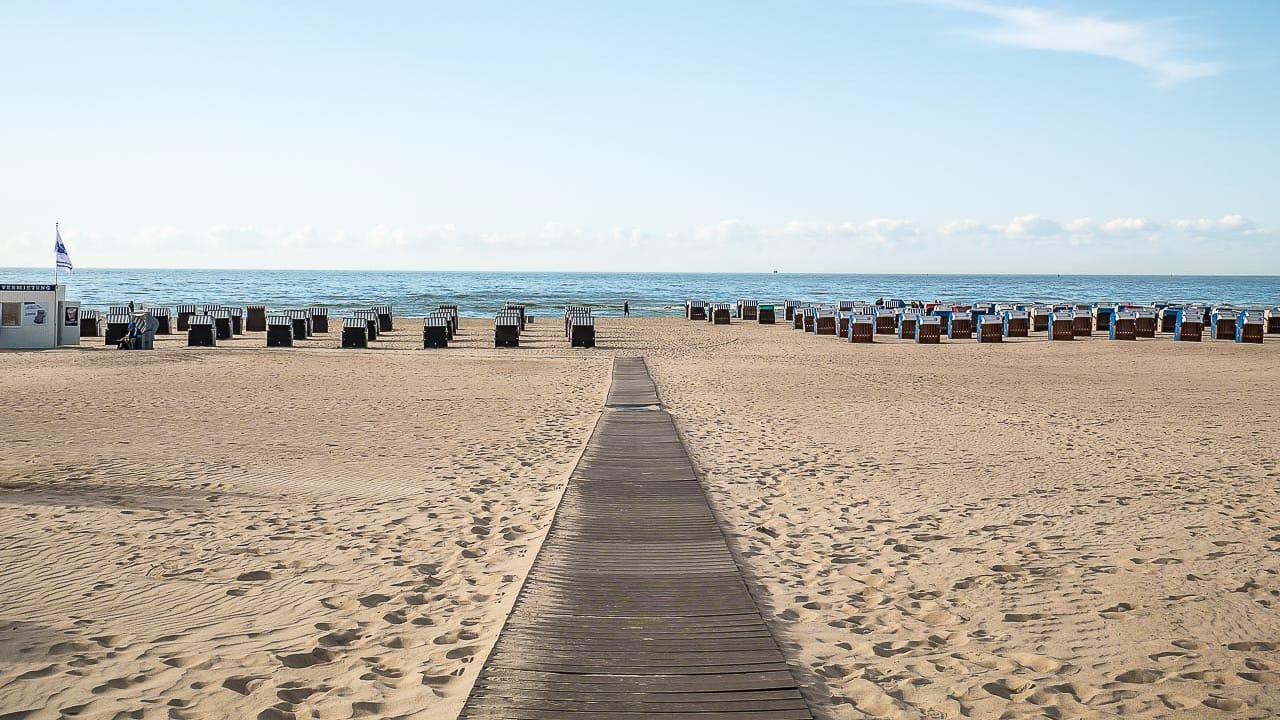 Camping Ostsee mit Blick auf den Strand
