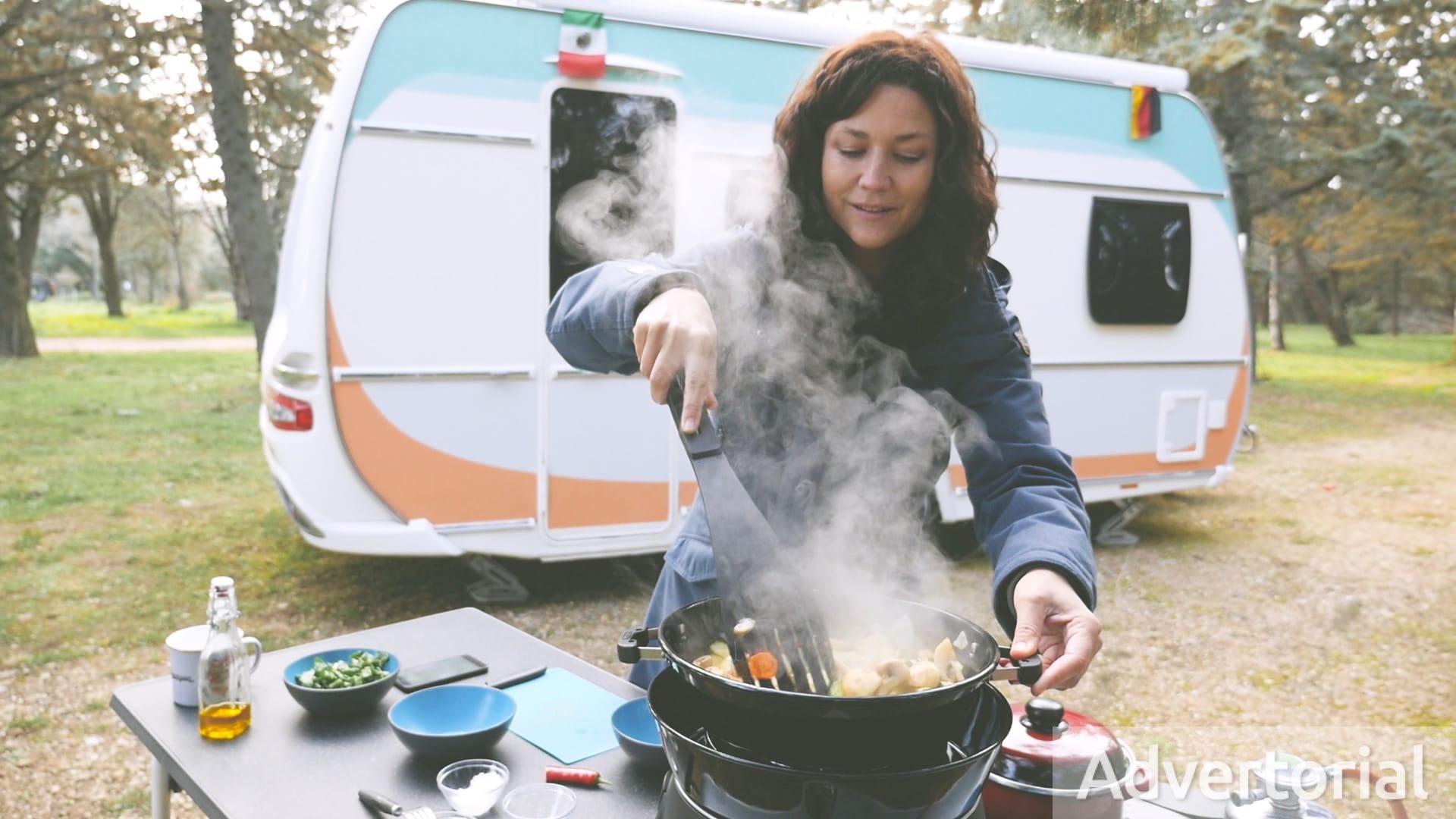 Camping-Rezept: Gemüse-Couscous auf dem Safari Chef