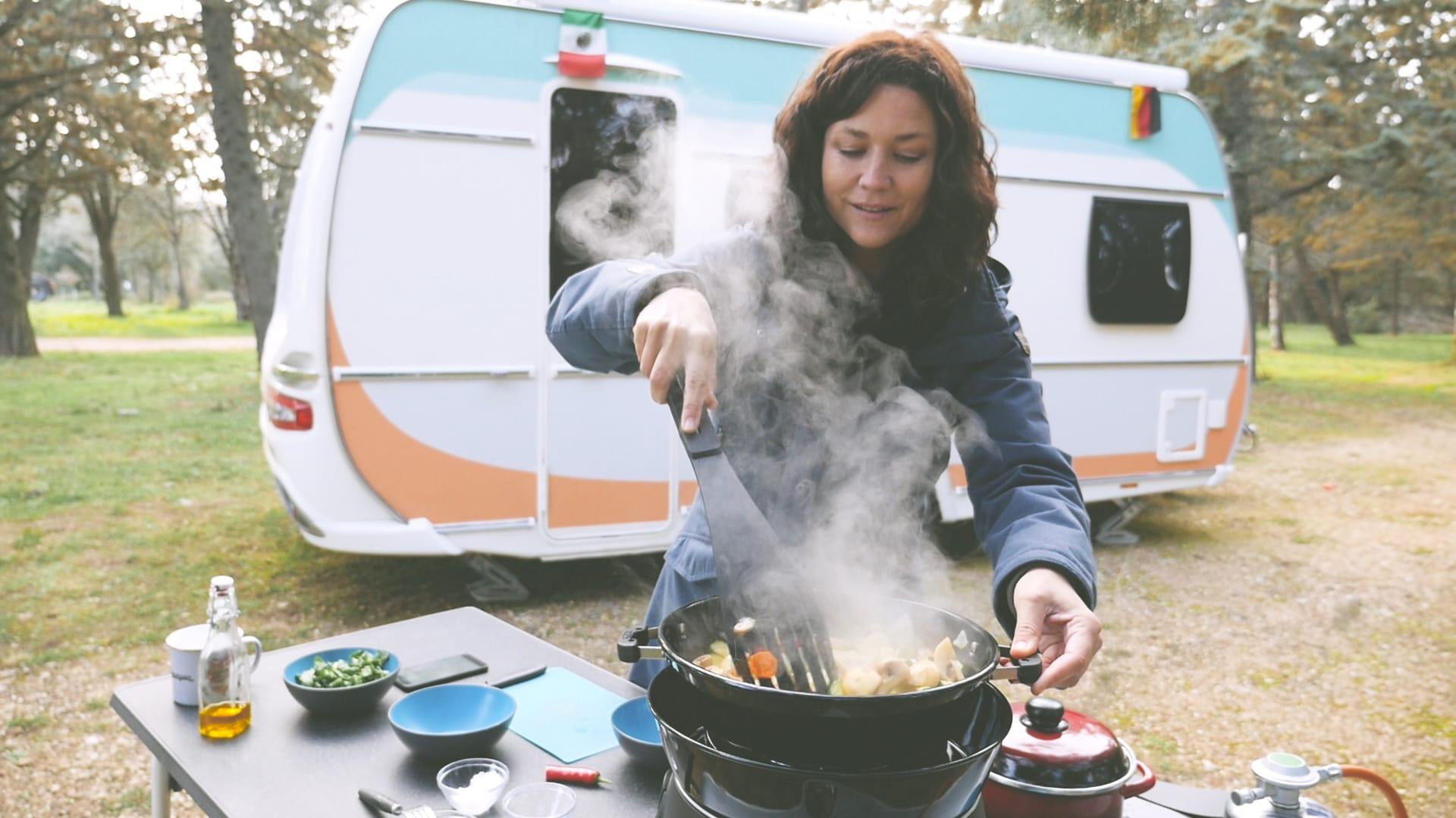 Camping-Rezepte - cover