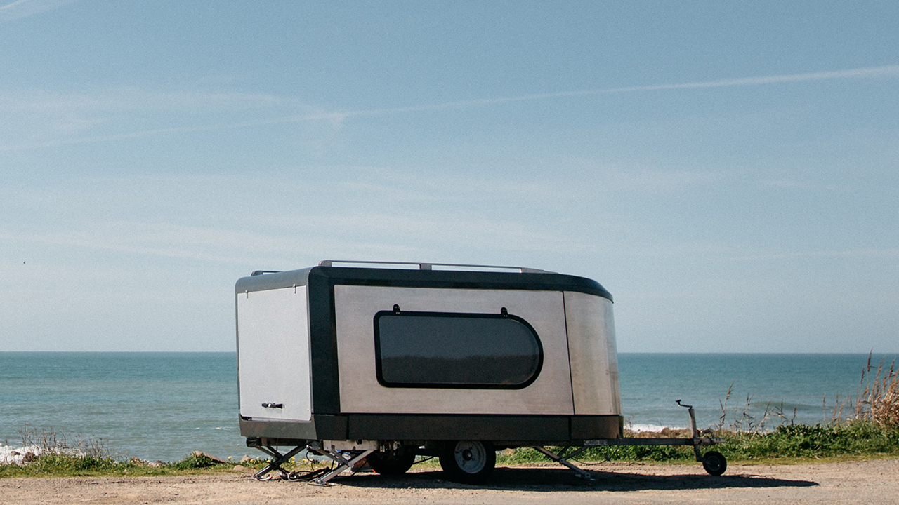 Die Travel Machine von Tipoon: Einmal Wohnwagen zum Ausklappen, bitte!
