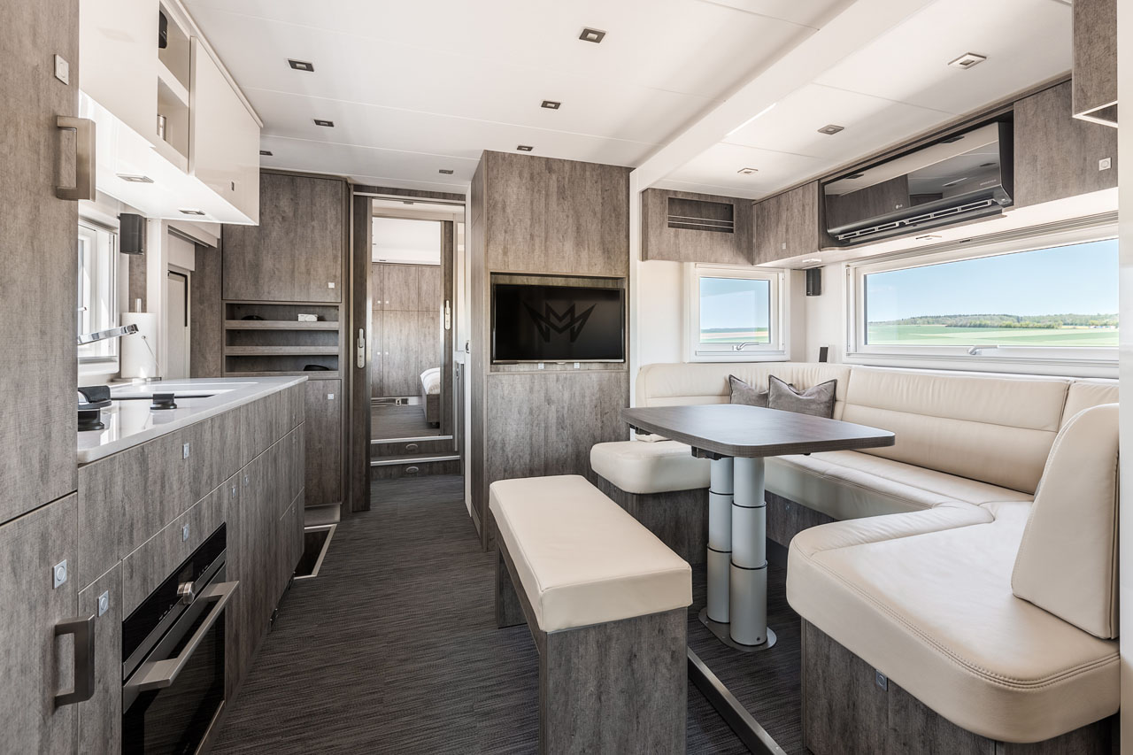 10 Luxus Wohnmobile Zum Staunen Camperstyle