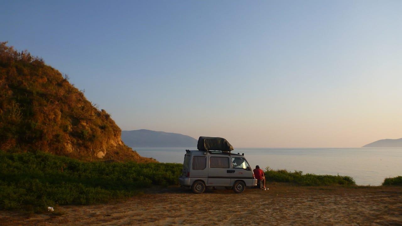 Wildcamping in Albanien