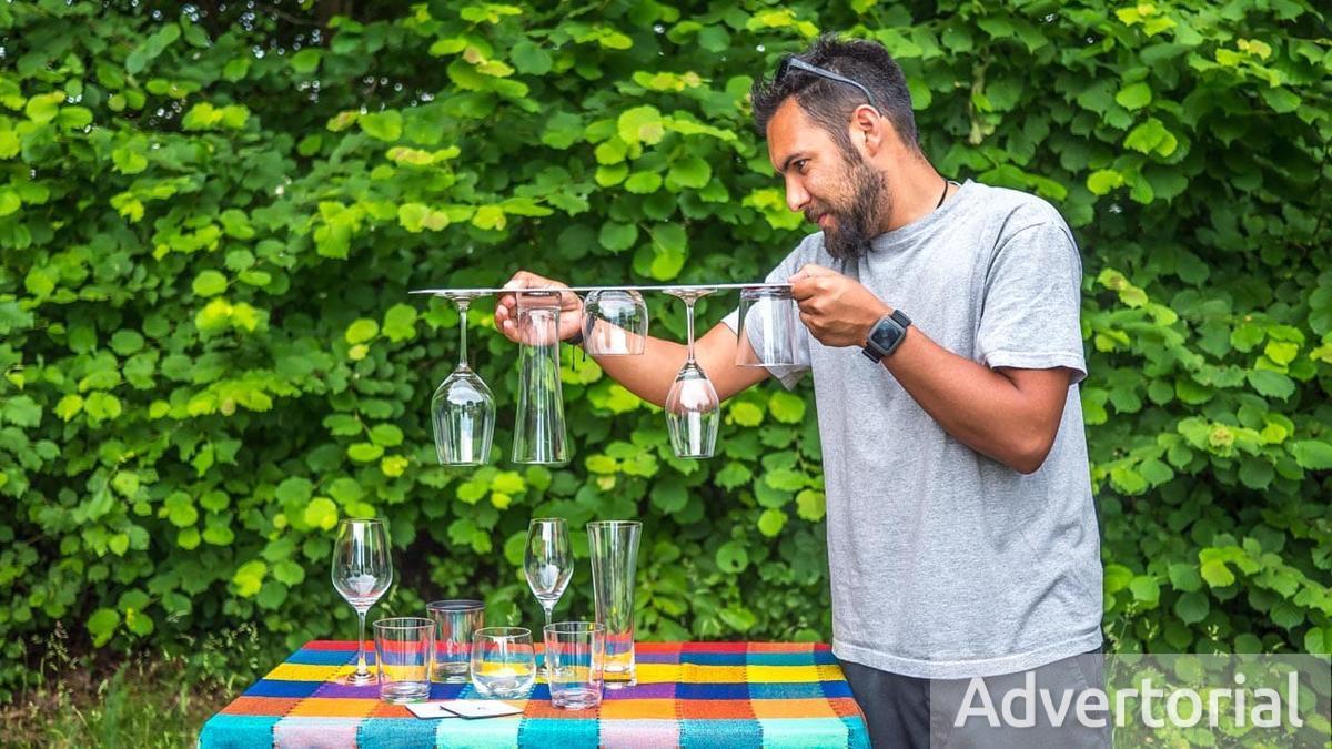 Praktisches Zubehör Für Camper: Rutschsichere Magnetische Gläser