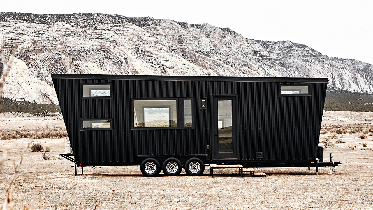 tiny house drake von land ark design trifft platz. Black Bedroom Furniture Sets. Home Design Ideas