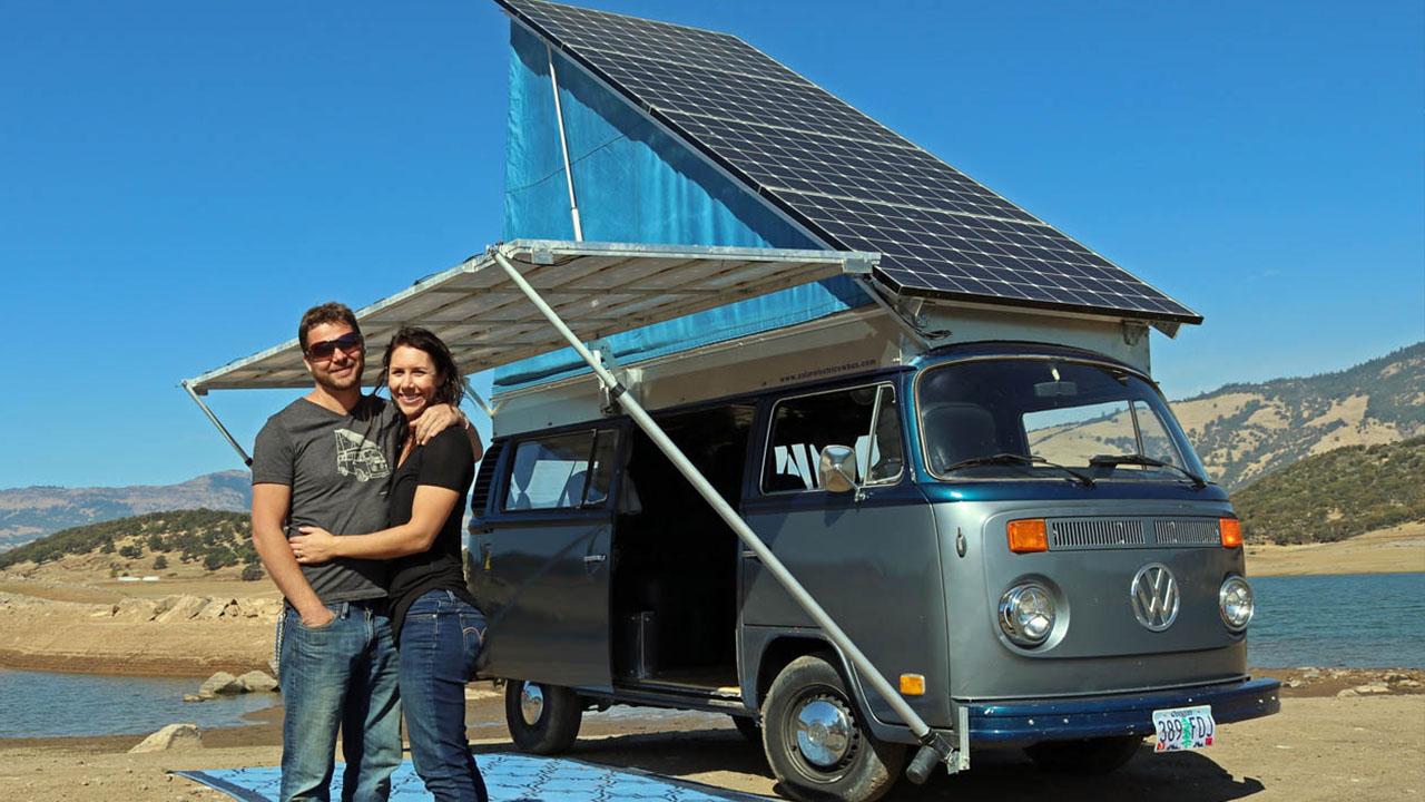 Sonne Im Tank: Mit Dem Solarbetriebenen VW Bus Durchs Land