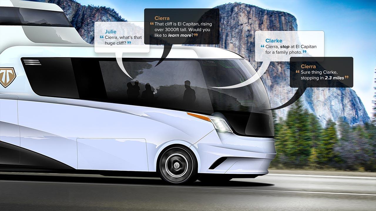 Das Selbstfahrende Wohnmobil: TerraVenture Macht's Möglich!