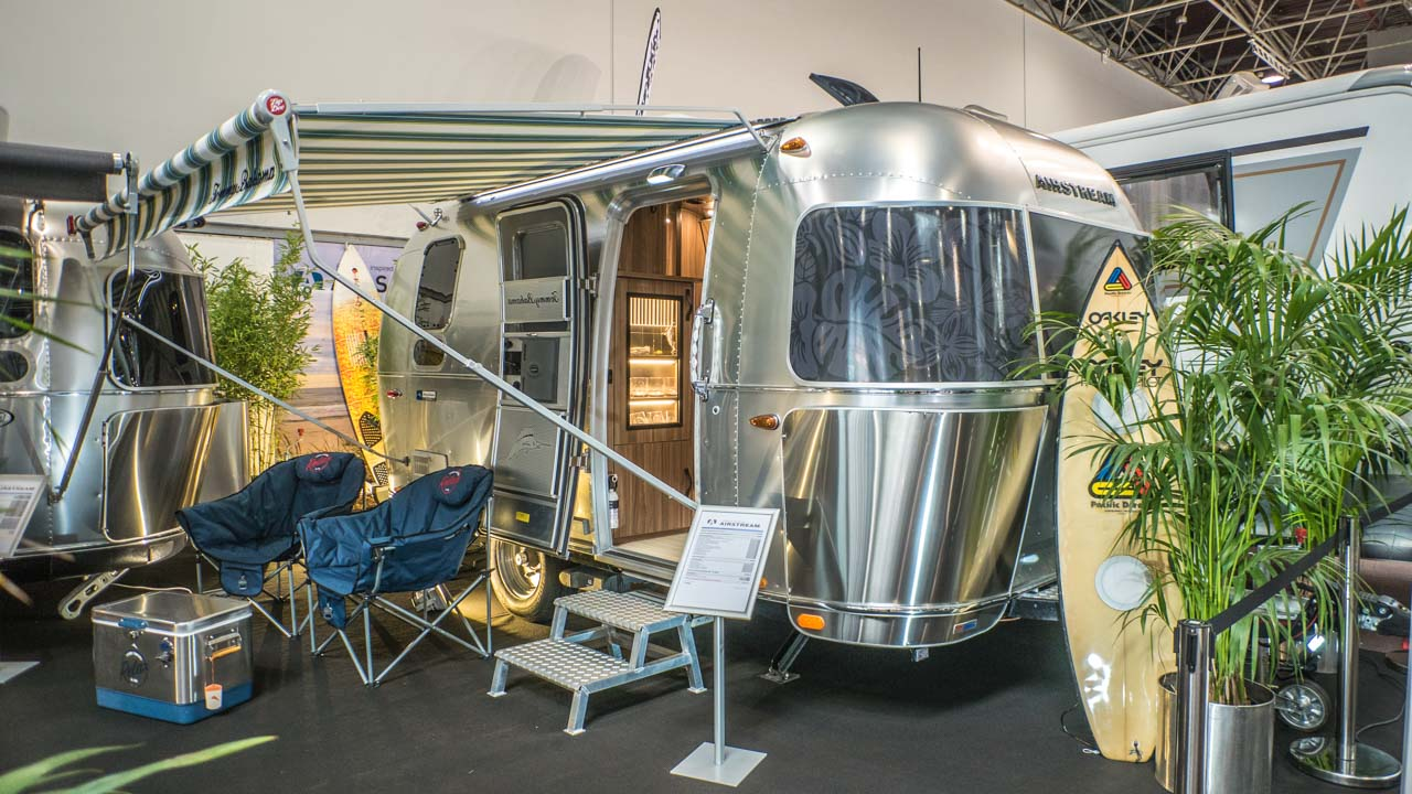 Messeneuheit: Airstream Tommy Bahama Special Edition