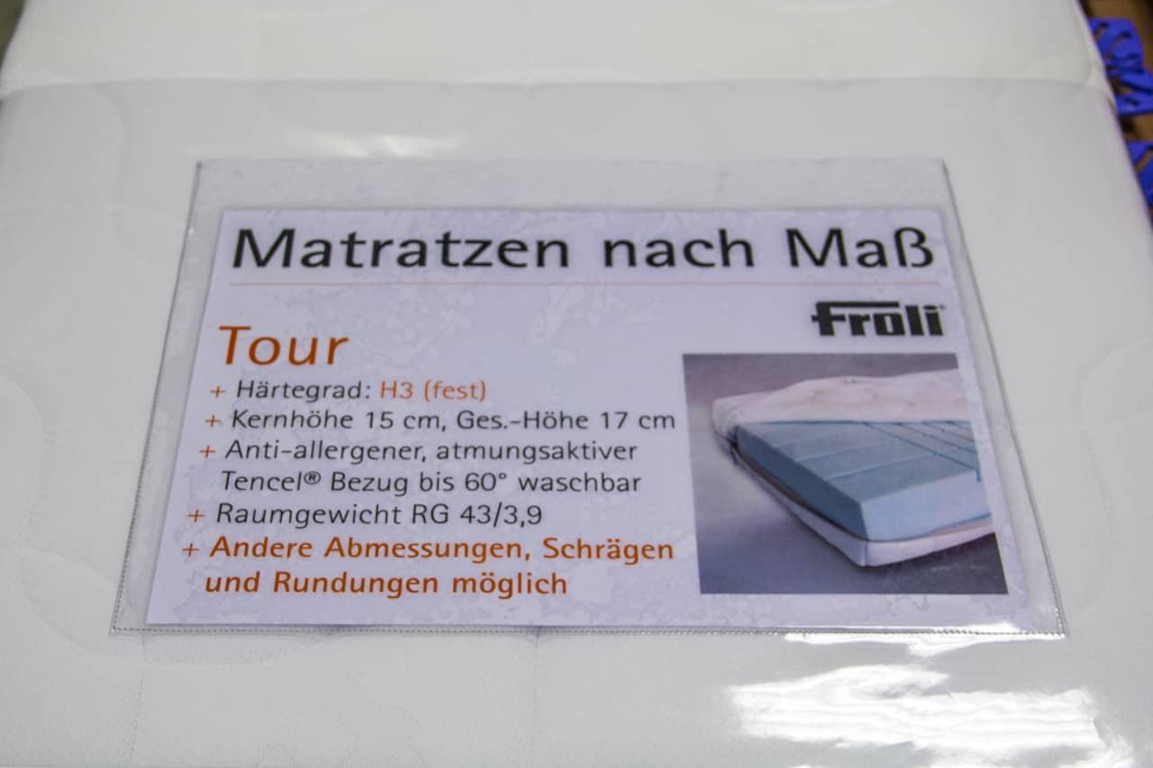 Testbericht Froli Bettsystem In Unserem Wohnmobil Einbau