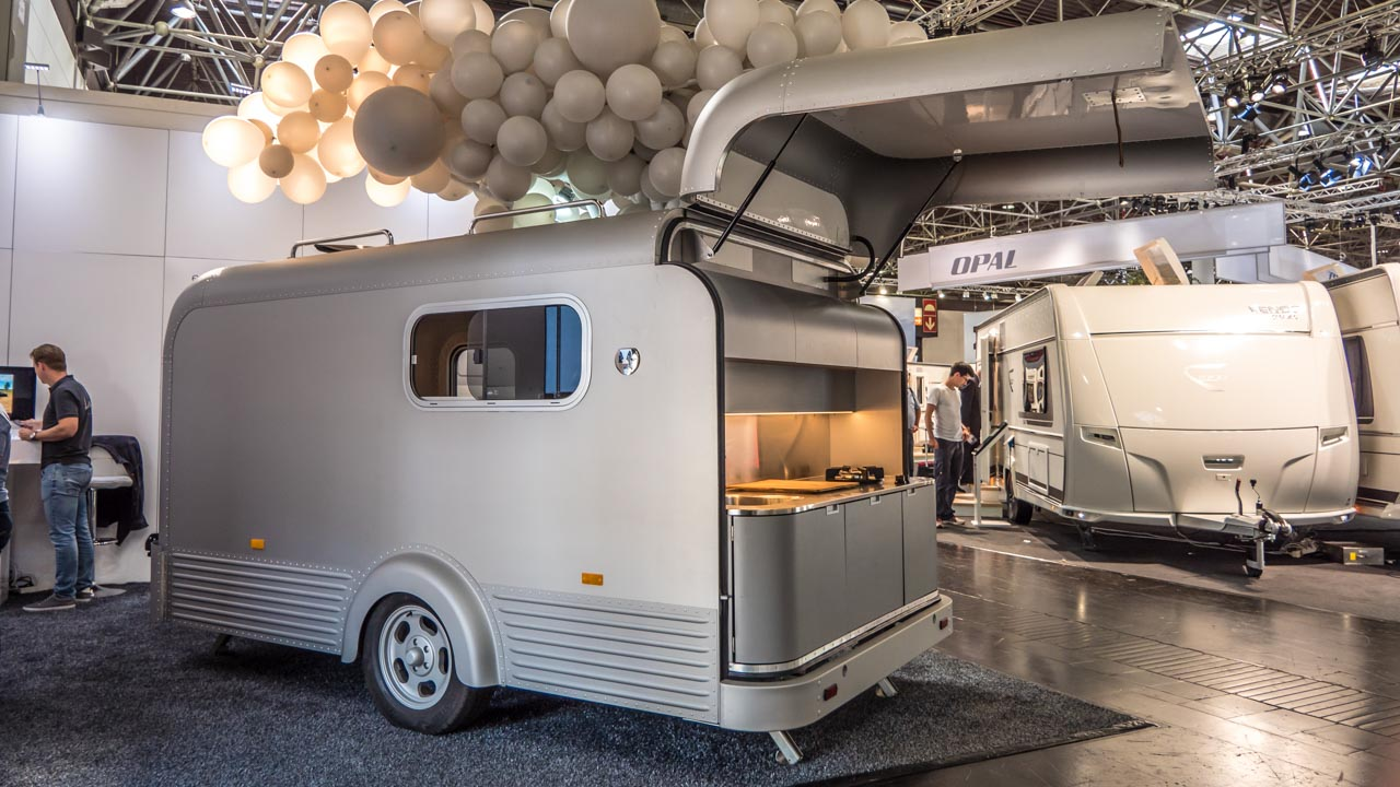Lume Traveler Die Messeneuheit Beim Caravan Salon 2018 In Dusseldorf