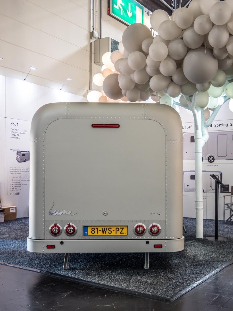 Lume Traveler - die Messeneuheit beim Caravan Salon 2018 in Düsseldorf