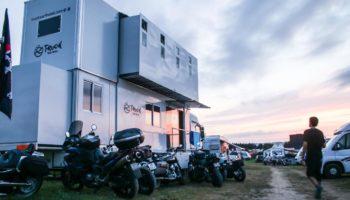 Motorradtour Truck Surf Hotel