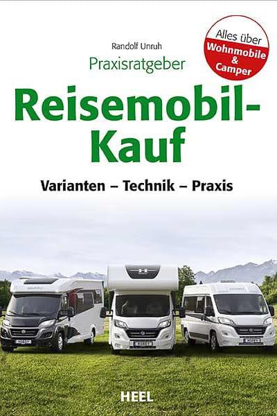Buchcover vom Praxisratgeber Reisemobil-Kauf