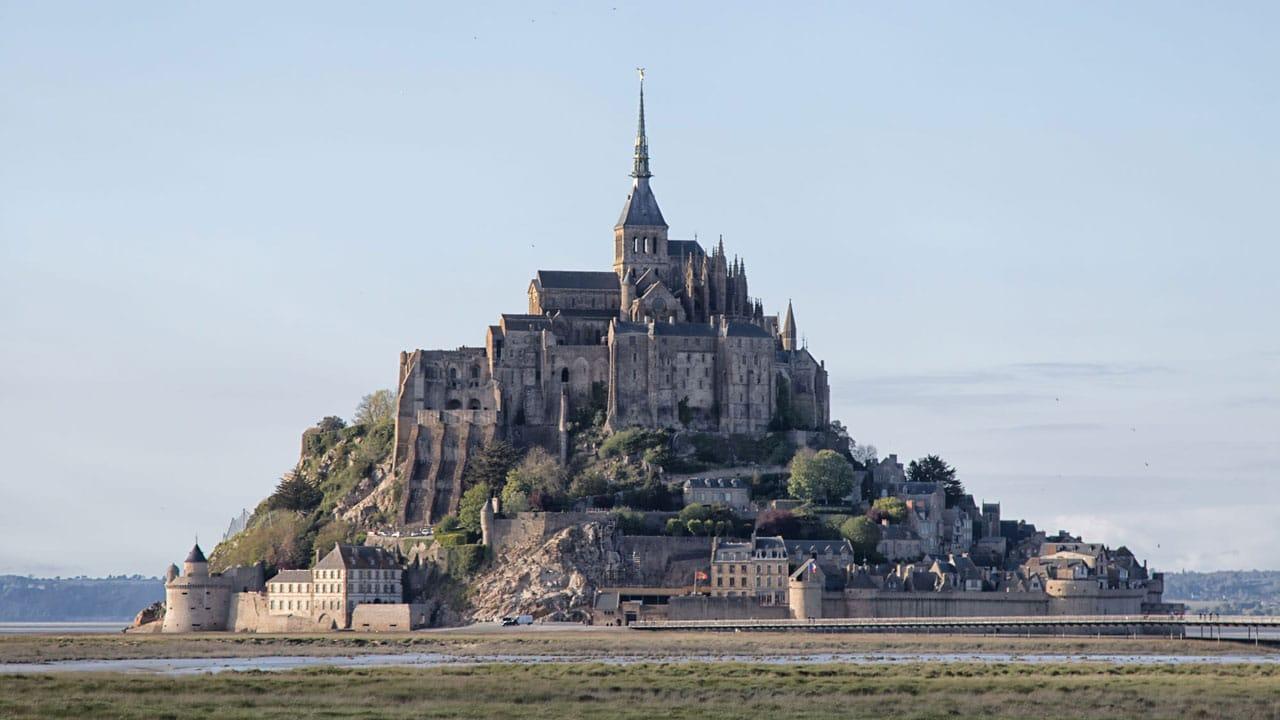 Blick auf den Mont Saint Michel
