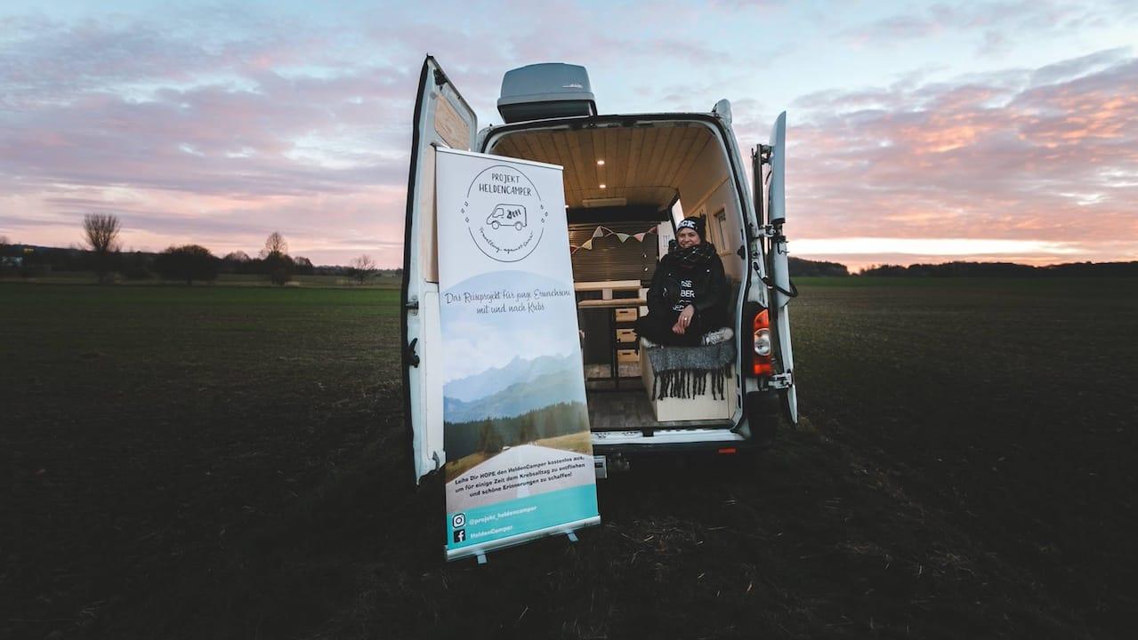 Heldencamper: Campingurlaub für junge Krebspatienten und Überlebende