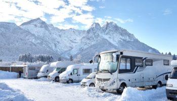 Wintercamping an der Zugspitze