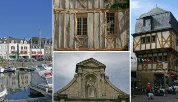 Idyllischer Hafen und tolle Altstadt in Vannes in der Bretagne
