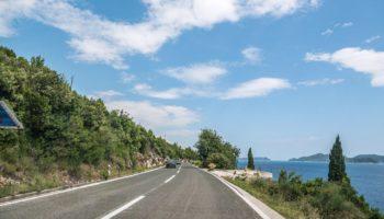 Fahrt durch das Camping Reiseziel Montenegro