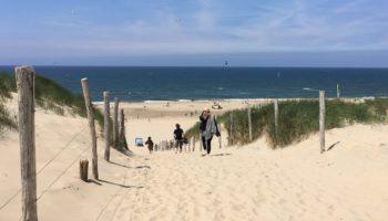 Fuer Strandliebhaber sind die Niederlande ein tolles Camping Reiseziel