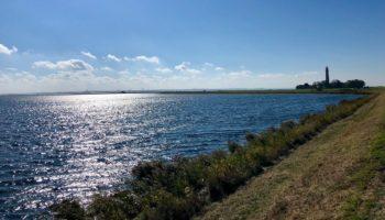 Blick auf das Meer am Camping Reiseziel Ostsee