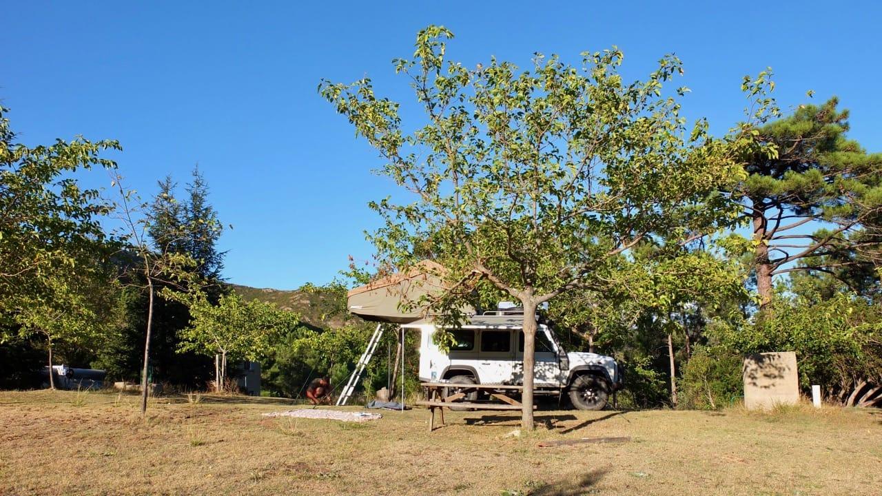Wildcamping in Europa mit einem Dachzelt
