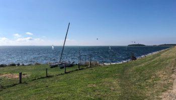 Blick auf das Meer an der Ostsee