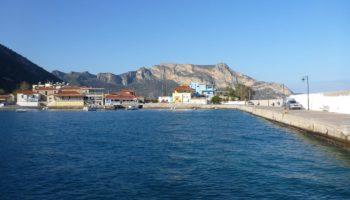 Blick auf das Meer ist in Griechenland beim Wildcamping eher nicht moeglich