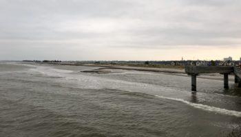 Ein Steg an der Ostsee ein tolles Reiseziel fuer Camper