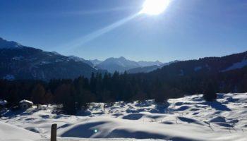 Wintercamping im Schnee bietet das Camping Reiseziel Schweiz
