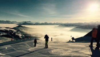Oesterreich ist das perfekte Camping Reiseziel fuer Skifahrer