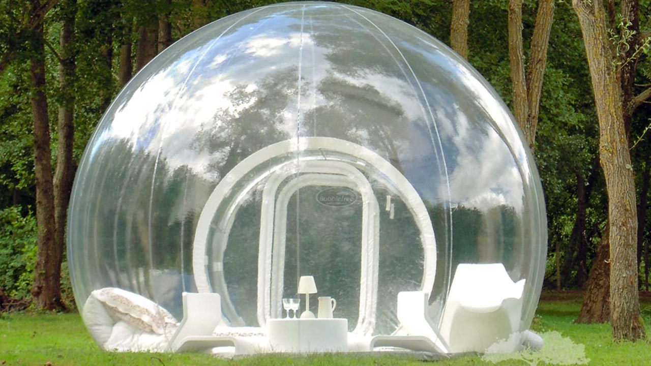 Bubble Tents: Übernachten in der Seifenblase