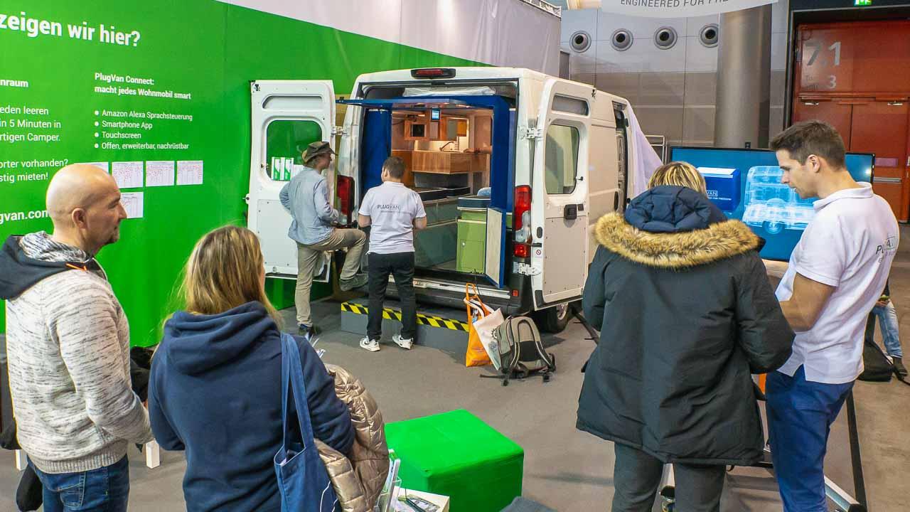 Der PlugVan - die mobile Wohnbox für jeden Kastenwagen.