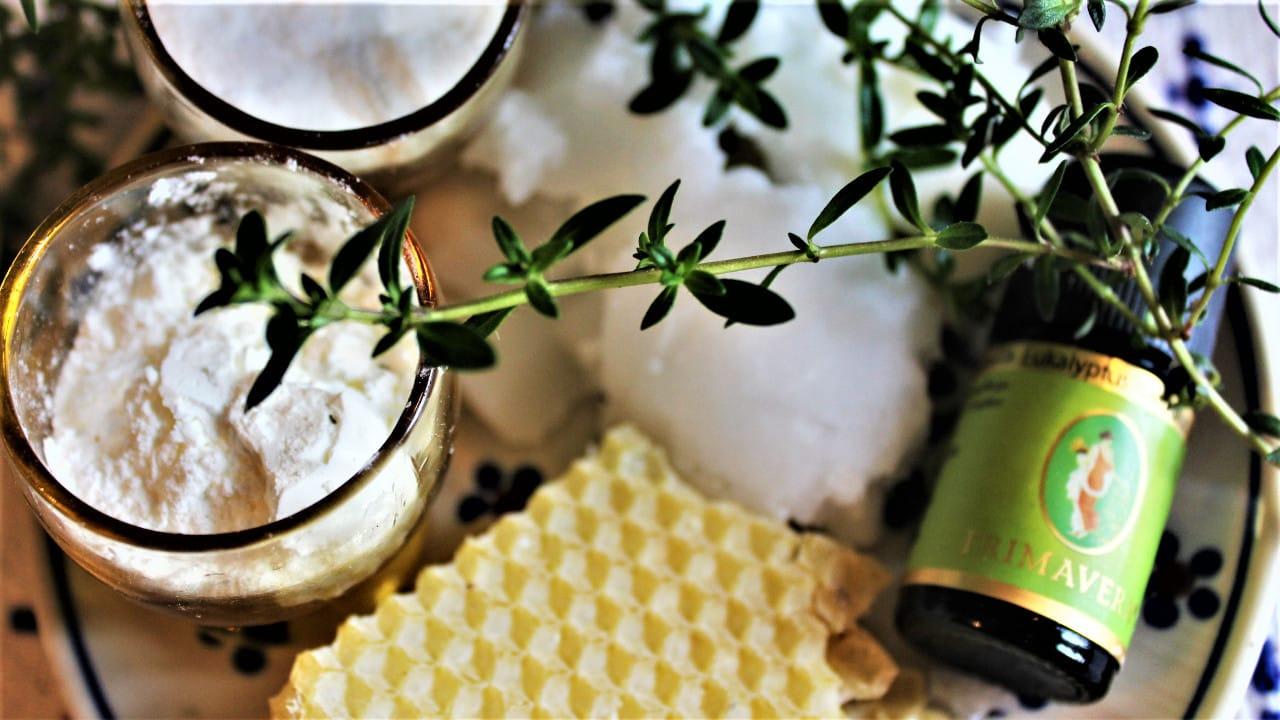 Zutaten fuer Tipps und Rezepte zum Naturkosmetik selber machen