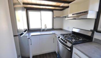 Küche im Ad Astra Tiny Home