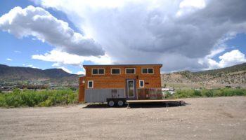 Das Ad Astra Tiny Home von außen