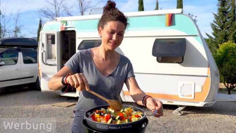 Ratatouille-Rezept für den Camping-Grill Safari Chef 2 von CADAC