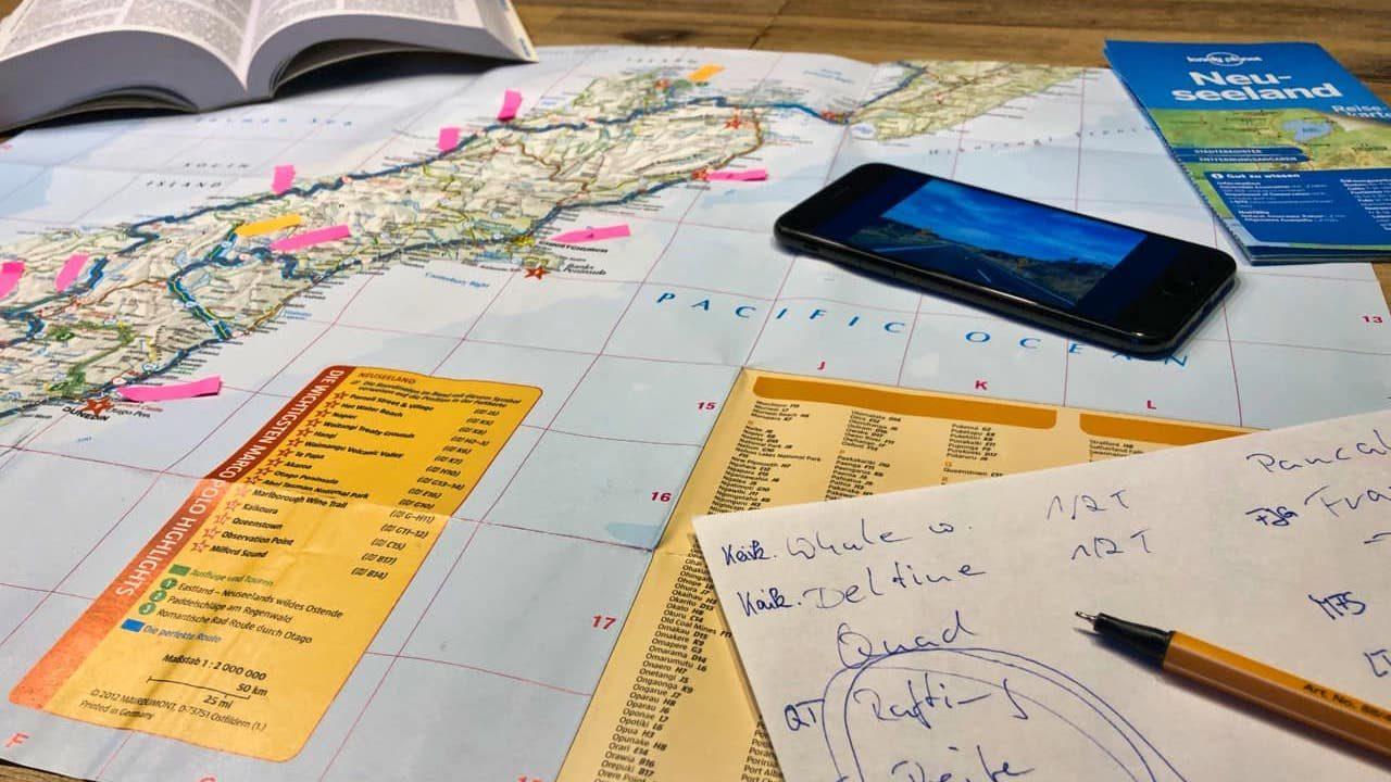 Neuseeland Reise planen