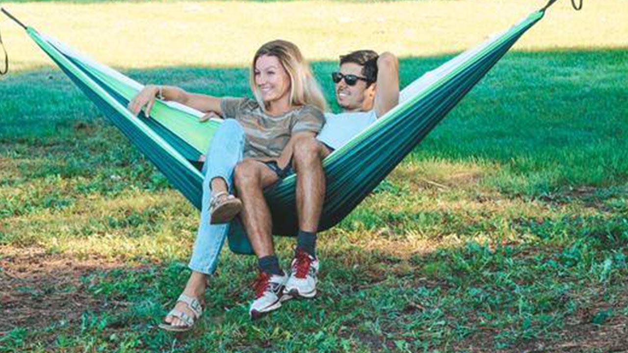 Campen mit leichtem Gepäck: die Hängematte von Summit Style