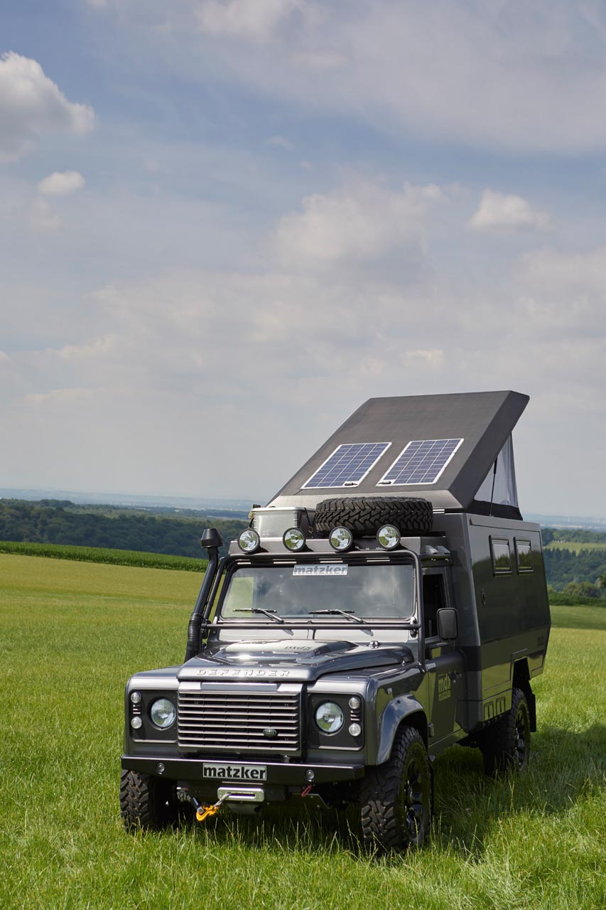 Das mdx Expeditionsmobil – mit dem Land Rover Defender in die Wildnis