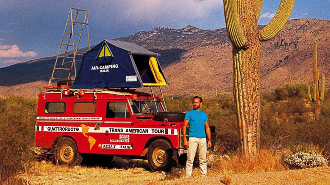 Das Air-Camping Dachzelt auf Expedition