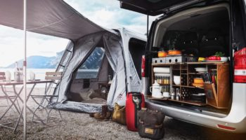 CampChamp Campingbox in einem Campervan
