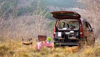Camping mit einer Campingbox von Flip Box
