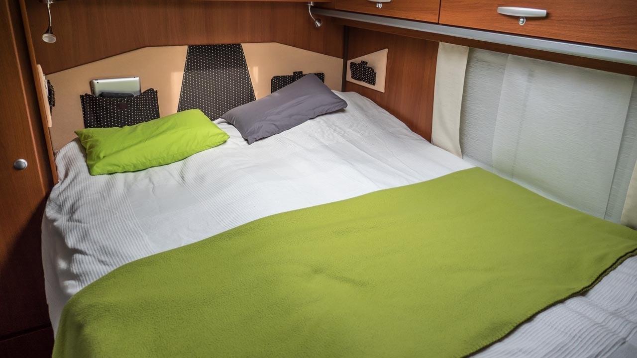 Schlafplätze: Eignet sich ein Wohnmobil für größere Familien?