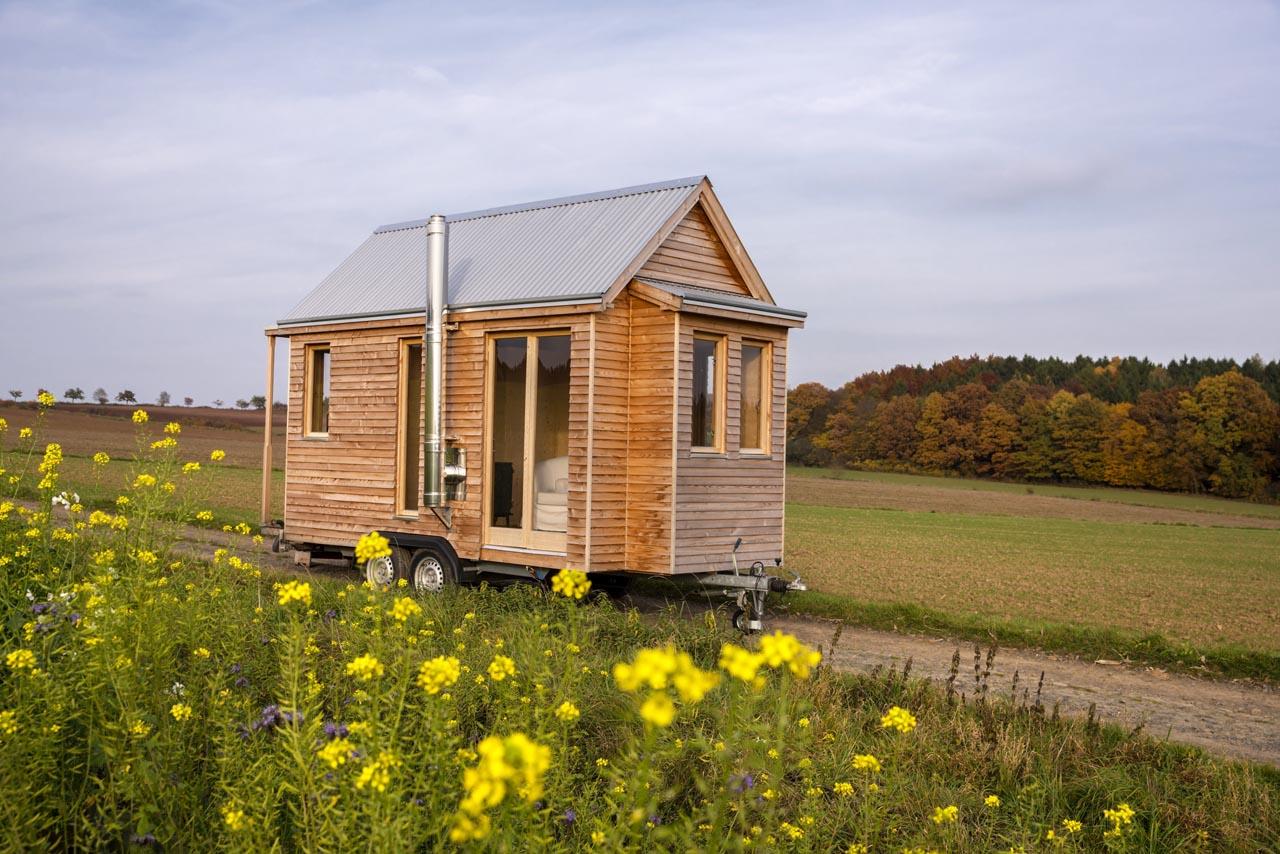 Minimalismus aus Holz: der Traum vom frisch getischlerten Tiny House