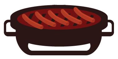 Tischgrill für Camper - kompakt und praktisch
