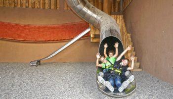 Indoorspielplatz auf dem kinderfreundlichen Campingplatz Schwarzwaelderhof