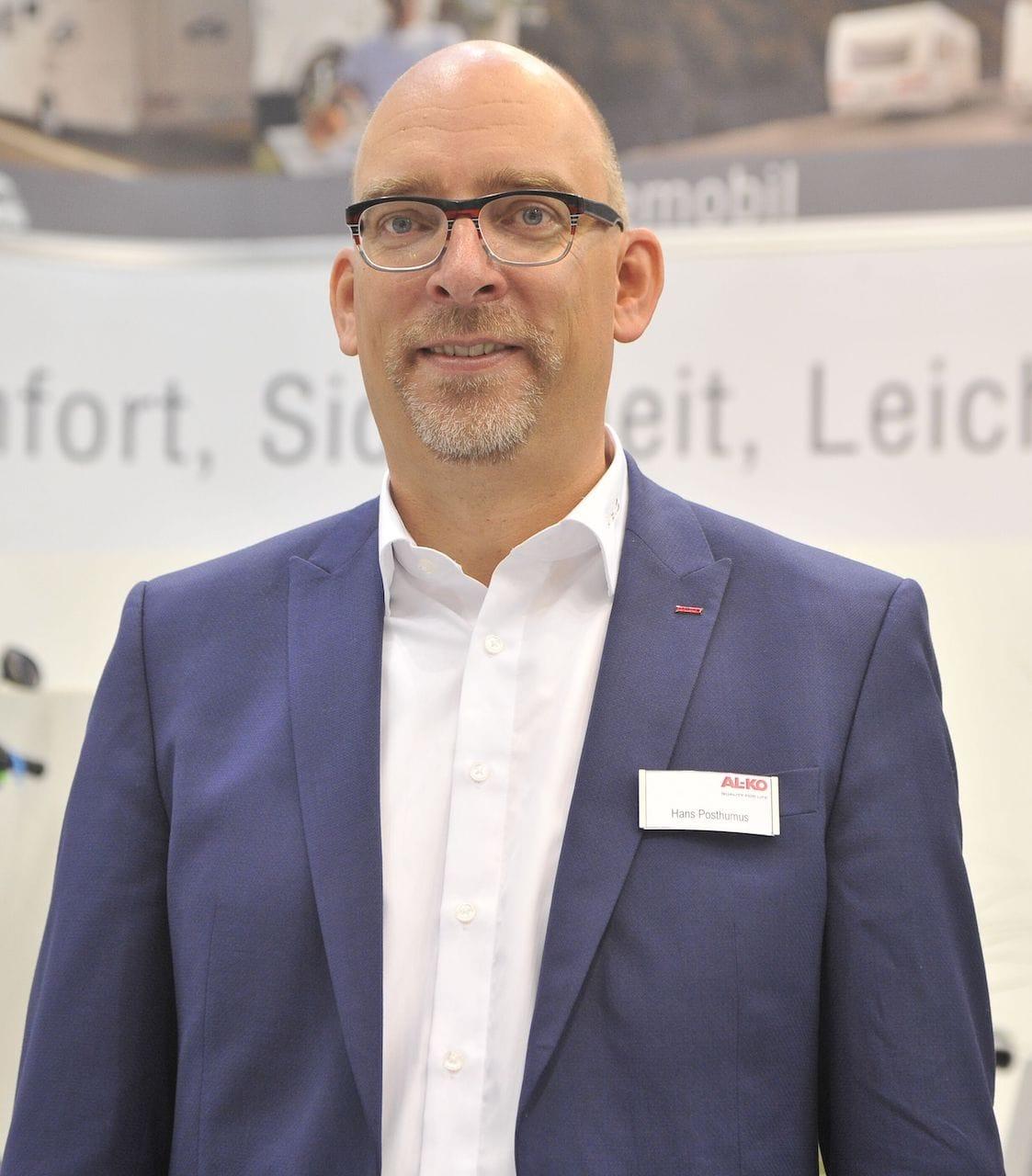 Hans Posthumus - Leiter Marketing AL-KO Fahrzeugtechnik