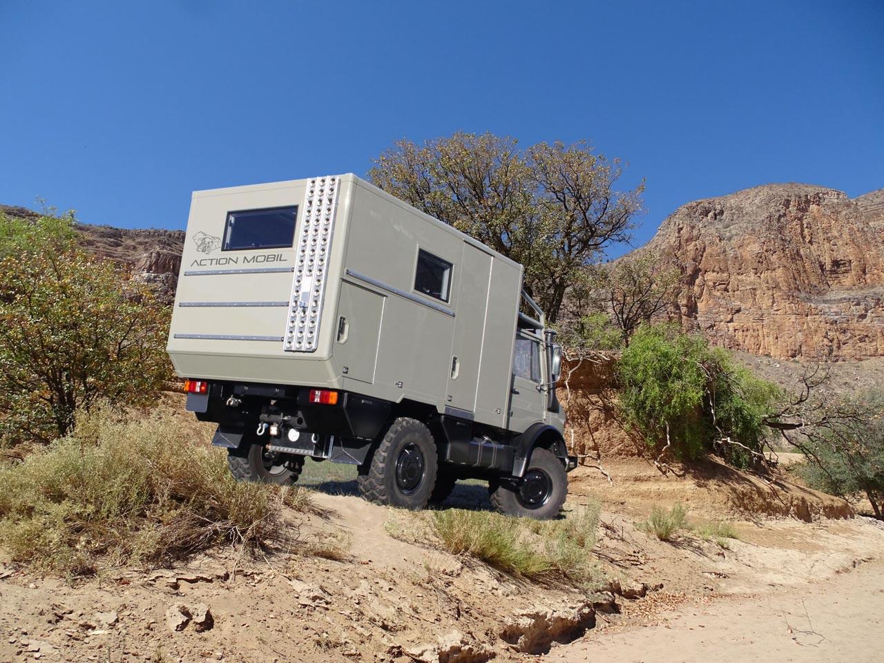 Geh doch in die Wüste! Das Expeditionsmobil Temet 3600