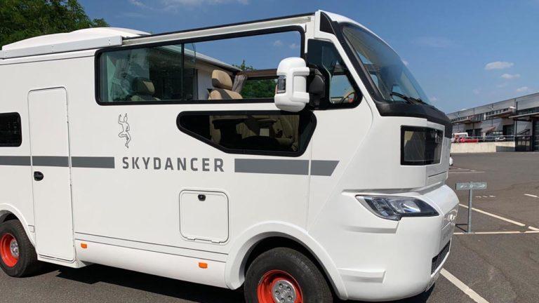 Der Skydancer bietet Camping- und Cabriogefühle