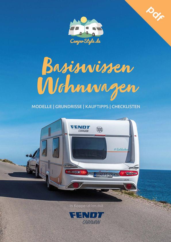 Kostenloses E-Book: Basiswissen Wohnwagen