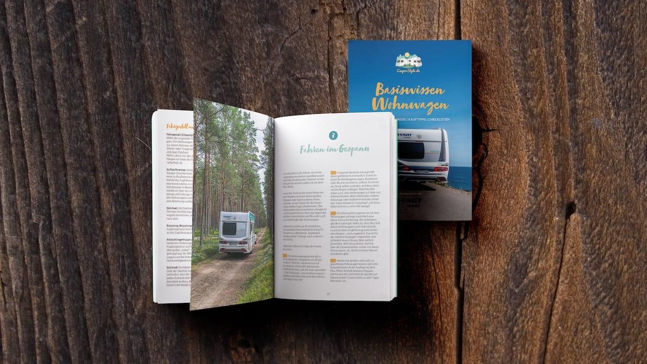Wohnwagen Anfänger Tipps Buch